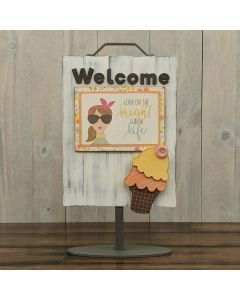 Ice Cream - Welcome Sign - Foundations Decor