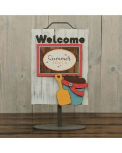 Bucket - Welcome Sign - Foundations Decor