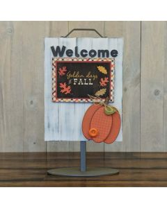 Pumpkin - Welcome Sign - Foundations Decor