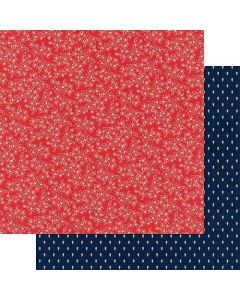 "Picnic 12"" x 12"" Paper - Good Old Days - Amber Labau - Fancy Pants Designs*"