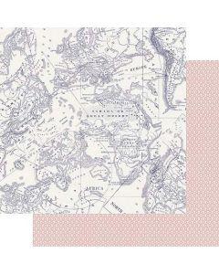 "Nostalgia 12"" x 12"" Paper - Good Old Days - Amber Labau - Fancy Pants Designs"