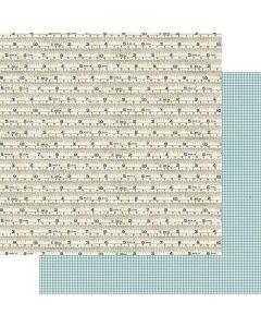 "Measured 12"" x 12"" Paper - Good Old Days - Amber Labau - Fancy Pants Designs"