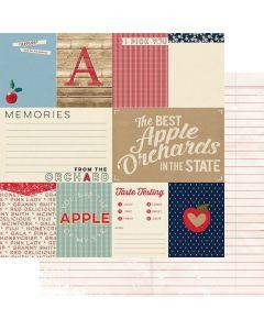 "Memories 12"" x 12"" Paper - Good Old Days - Amber Labau - Fancy Pants Designs"