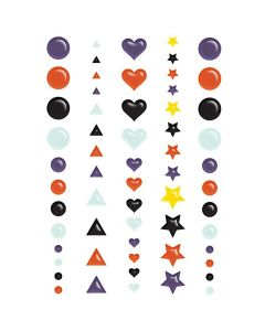 Howl Puffy Stickers - Renne Looney - Fancy Pants Designs