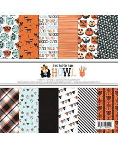"""Howl 6"""" x 6"""" Paper Pad - Renne Looney - Fancy Pants Designs"""