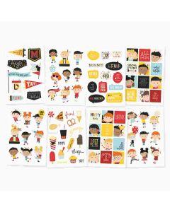 Happy Kids Stickers