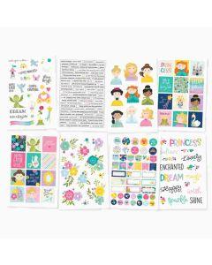 "Little Princess 4"" x 6"" Stickers"