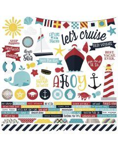Cruisin' Combo Stickers - Simple Stories