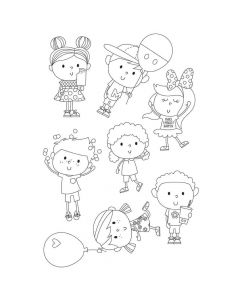 Happy Kids Stamps