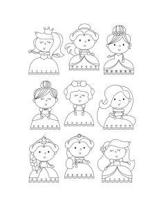 Pretty Princess Stamps