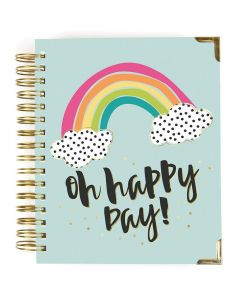 Oh, Happy Day! 2019-2020 17-Month Weekly Spiral Planner - Carpe Diem - Simple Stories