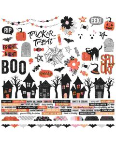 Happy Haunting Combo Stickers - Simple Stories