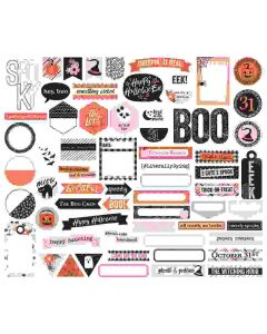 Happy Haunting Journal Bits & Pieces - Simple Stories