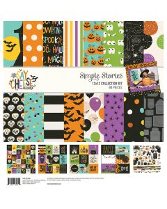 Say Cheese Halloween Collection Kit - Simple Stories