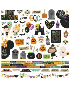 Say Cheese Halloween Combo Stickers - Simple Stories