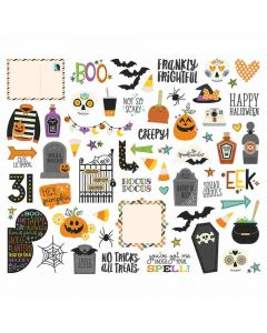 Say Cheese Halloween Bits & Pieces - Simple Stories
