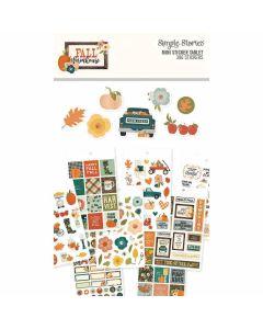Fall Farmhouse Mini Sticker Tablet - Simple Stories