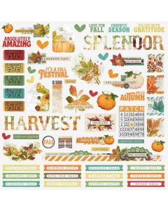 Autumn Splendor Combo Stickers - Simple Stories