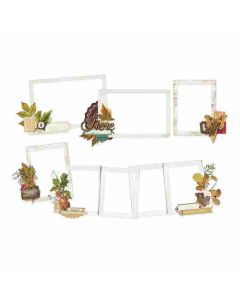 Autumn Splendor Layered Frames - Simple Stories