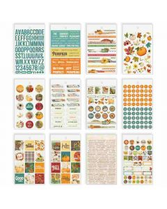Autumn Splendor Banner Stickers - Simple Stories - Clearance