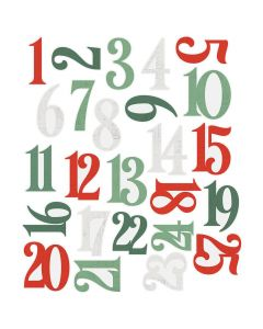 Country Christmas Number Pocket Pieces - Simple Stories