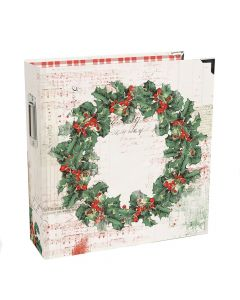 """Country Christmas 6"""" X 8"""" SN@P! Holiday Binder - Simple Stories"""