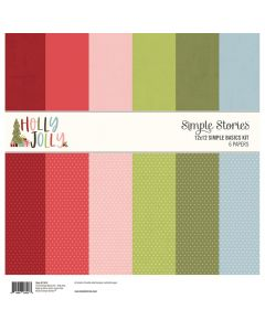 Holly Jolly Simple Basics Kit - Simple Stories