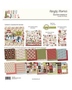 Holly Jolly Collector's Essential Kit - Simple Stories