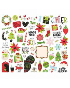 Say Cheese Christmas Bits & Pieces - Simple Stories