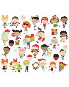 Happy Kids Bits & Pieces - Say Cheese Christmas - Simple Stories