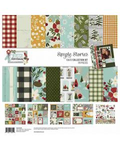 Winter Farmhouse Collection Kit - Simple Stories