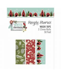 Winter Farmhouse Washi Tape - Simple Stories