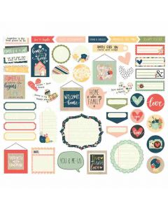 So Happy Together Journal Bits & Pieces - Simple Stories