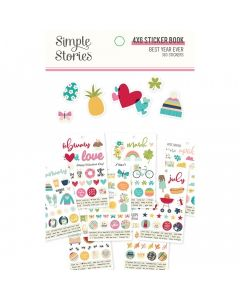 "Best Year Ever 4"" x 6"" Sticker Book - Simple Stories*"