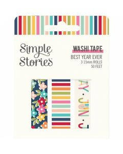 Best Year Ever Washi Tape - Simple Stories*