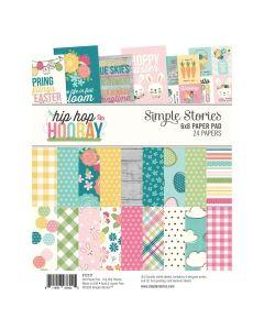 """Hip Hop Hooray 6"""" x 8"""" Paper Pad - Simple Stories*"""