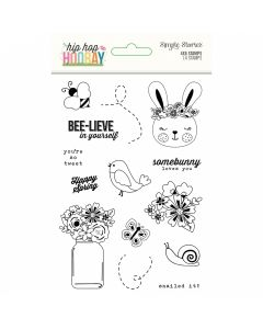 Hip Hop Hooray Clear Stamps - Simple Stories*