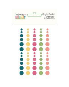 Hip Hop Hooray Enamel Dots - Simple Stories*
