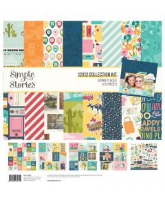 Going Places Collection Kit - Simple Stories*