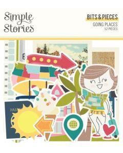 Going Places Bits & Pieces - Simple Stories*