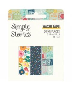 Going Places Washi Tape - Simple Stories*