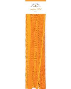 Tangerine Paper Frills - Pumpkin Spice - Doodlebug*