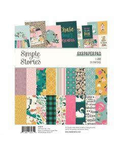 """I Am 2020 6"""" x 8"""" Paper Pad - Simple Stories*"""