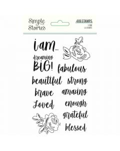 I Am 2020 Clear Stamps - Simple Stories*