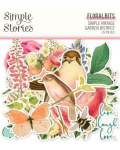 Simple Vintage Garden District Floral Bits & Pieces - Simple Stories*