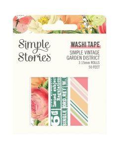 Simple Vintage Garden District Washi Tape - Simple Stories*