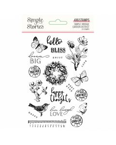 Simple Vintage Garden District Clear Stamps - Simple Stories*