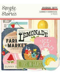 Summer Farmhouse Journal Bits & Pieces - Simple Stories