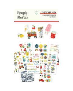 Summer Farmhouse Sticker Book - Simple Stories