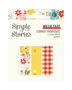 Summer Farmhouse Washi Tape - Simple Stories